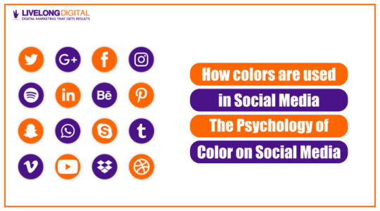 How colors are used in Social Media